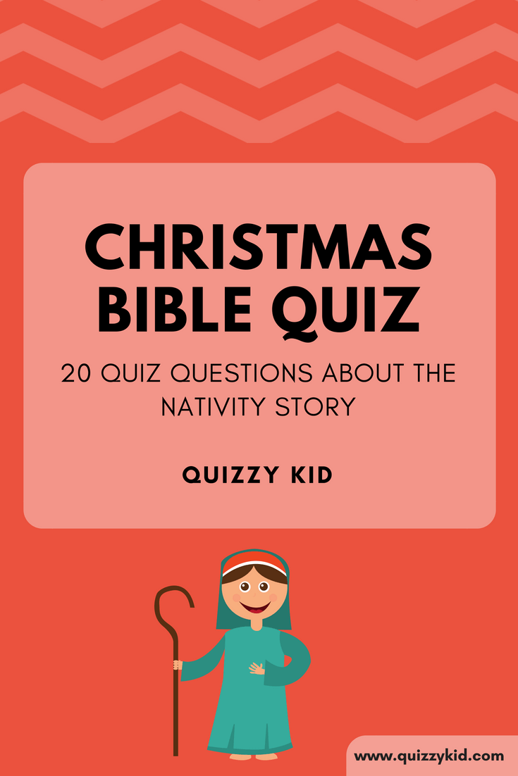 Christmas quiz printable. 20 Quiz questions about the Nativity story.