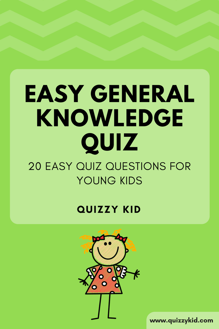 20 easy quiz questions for young kids