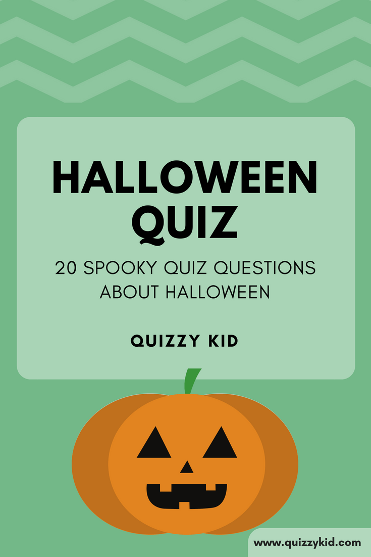 Halloween quiz - Quizzy Kid