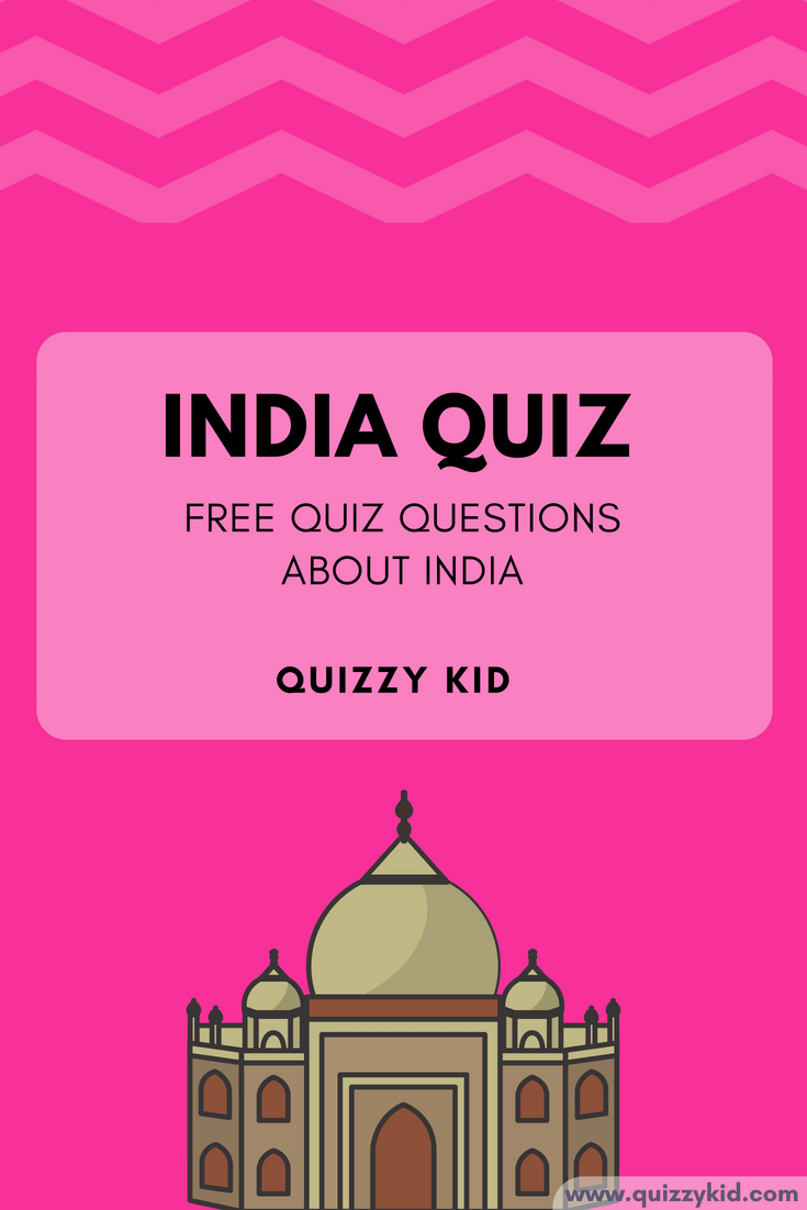 Free quiz questions about India