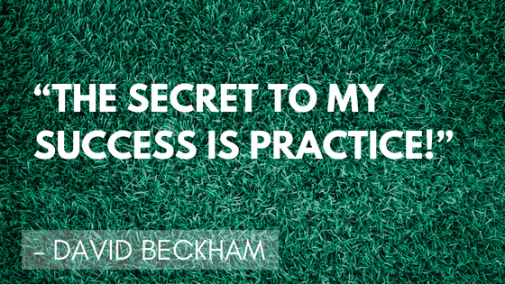Inspirational soccer Quotes - David Beckham | Quizzy Kid