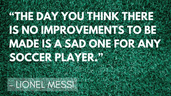 Inspirational soccer quotes - Lionel Messi