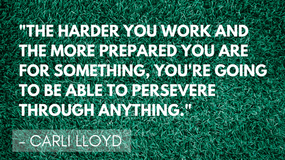Inspirational soccer quotes - Lloyd | Quizzy Kid