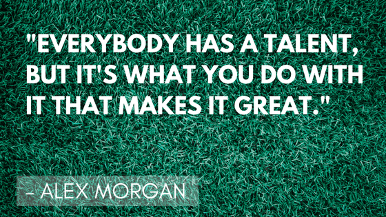 Inspirational soccer quotes - Morgan | Quizzy kid