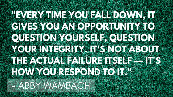 Inspirational soccer quotes - Wambach