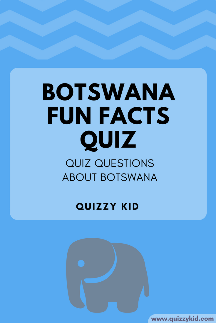 What interesting facts about Botswana do you know? Come and test your knowledge in this fun quiz!