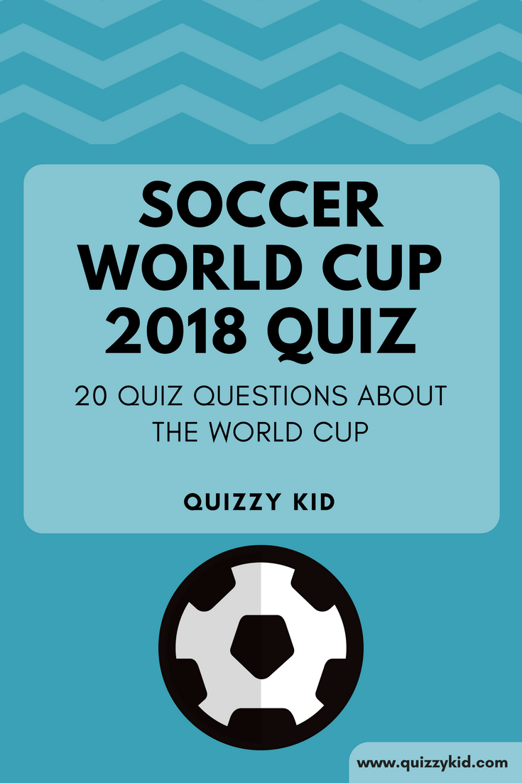 It's the soccer world cup! Try out our quiz and see if you are the ultimate know-it-all!