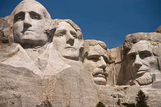 Photo of Mount Rushmore | US history questions and answers