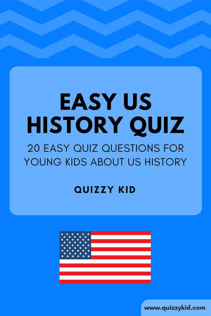 picture regarding American History Trivia Questions and Answers Printable identify Straightforward American background trivia - Quizzy Little one