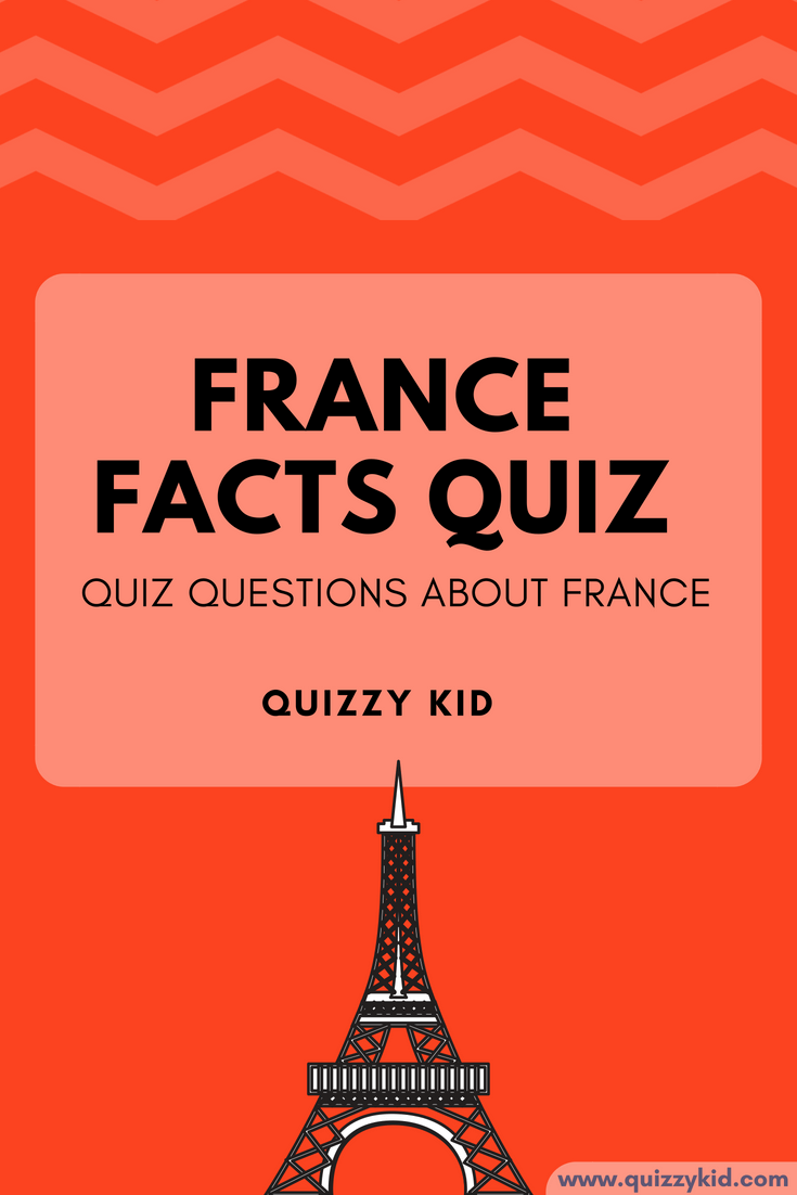 French trivia questions and answers | Quizzy Kid