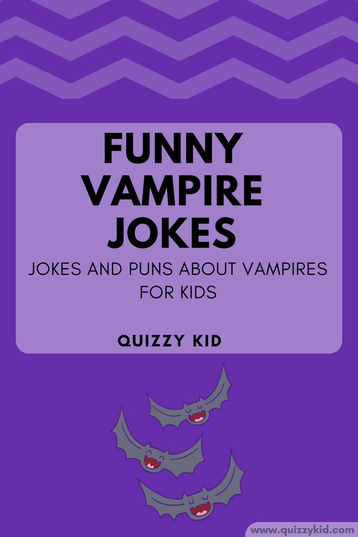 Funny Vampire Jokes for kids