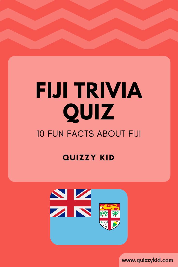 Interesting things about Fiji.