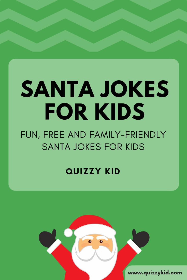 Santa Claus jokes for kids - Quizzy Kid