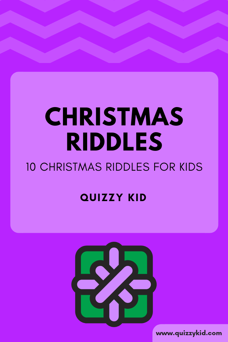 Christmas riddles with answers | Quizzy Kid