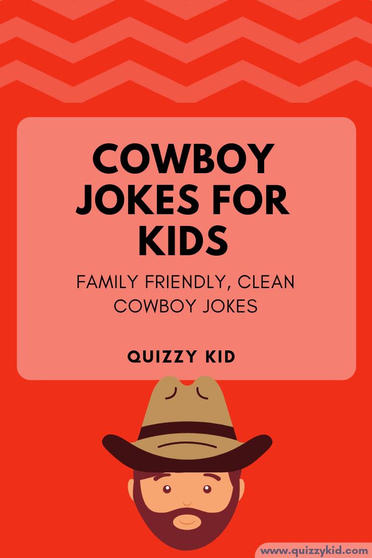 Cowboy jokes for kids