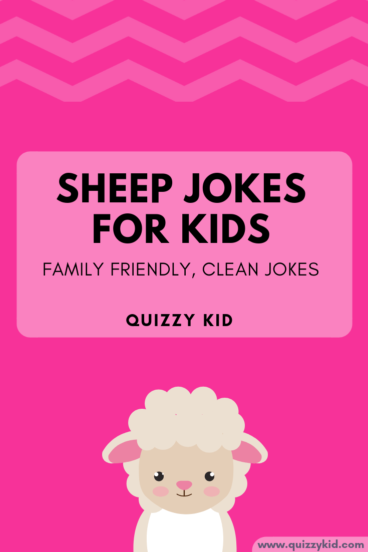 Sheep jokes for kids. Family friendly, clean jokes for kids.