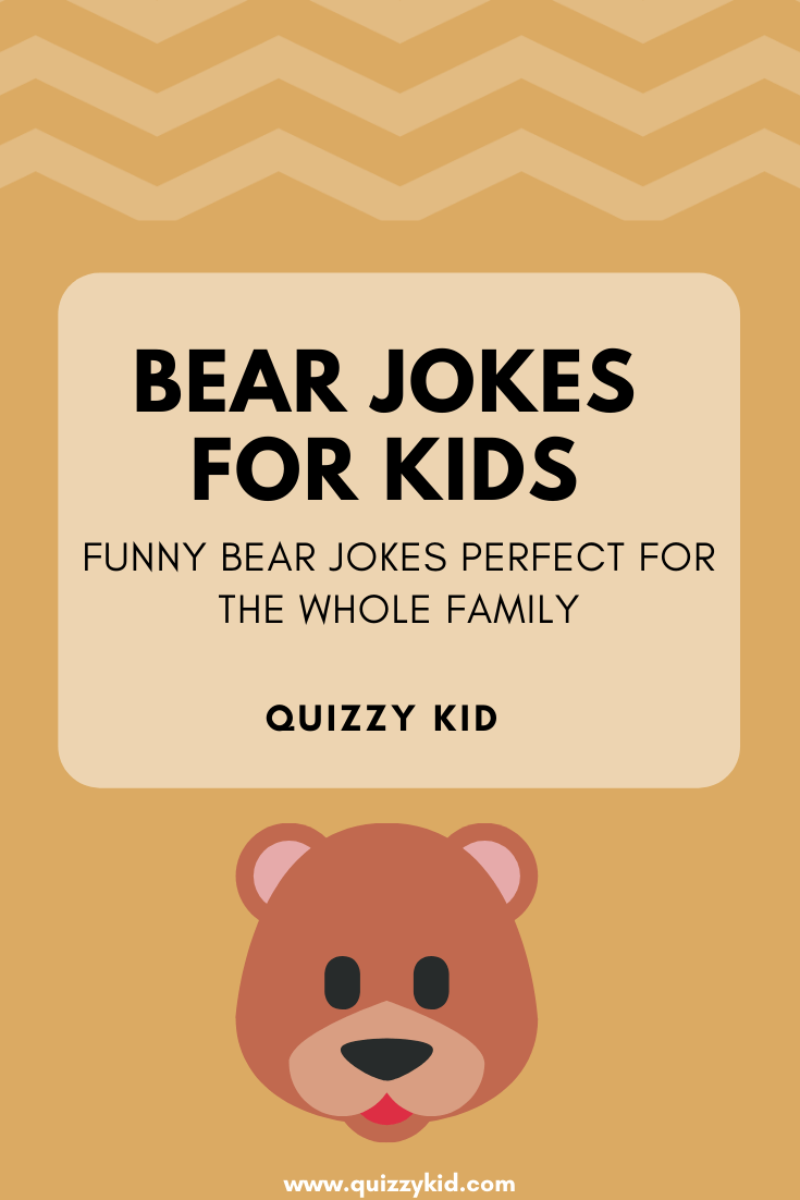 Funny bear jokes for kids