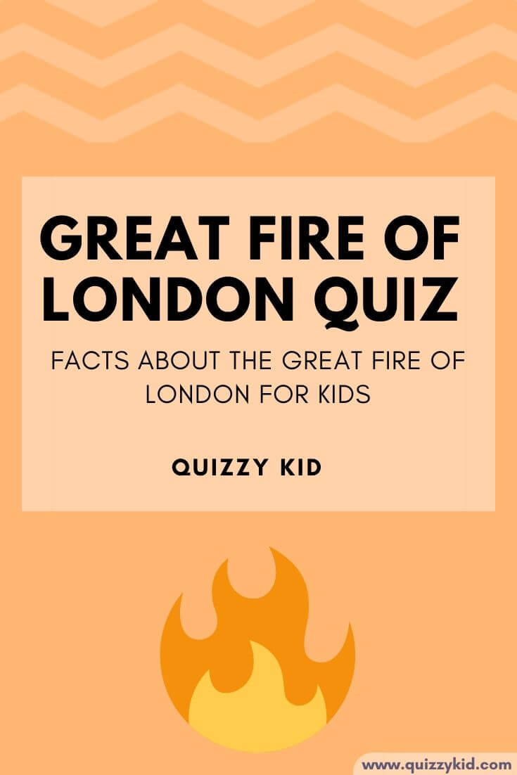 Facts about the great fire of London