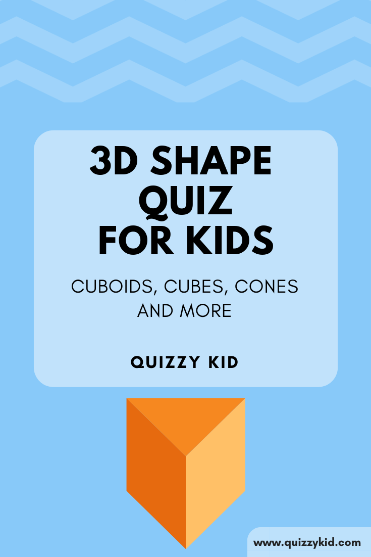 3D shapes quiz for kids